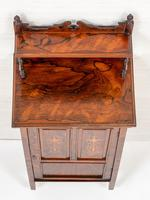 Victorian Rosewood Inlaid Side Cabinet (6 of 6)