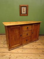 Victorian Rustic Antique Pine Sideboard Kitchen Unit (17 of 22)