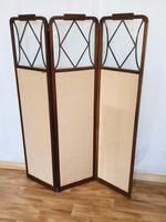 Edwardian Inlaid Mahogany Screen (5 of 13)