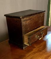 Early Nineteenth Century Miniature Pine Mule Chest (3 of 8)
