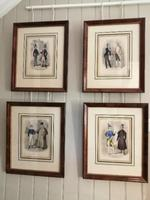 Set of Four Fine Prints by Joseph Couts - The Tailors Cutting Room