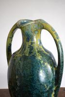 Large Art Nouveau Pierrefonds Crystalline Statement Vase (7 of 11)