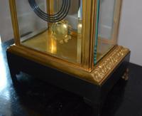 Bronze Ormolu Four Glass Clock Set (2 of 9)