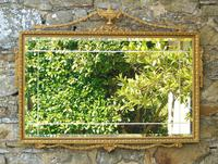 Good Antique Adam's Style Gilt Mirror Bevelled (2 of 5)