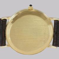Vintage Tiffany & Co 14ct Solid Gold 31mm Slim Thin Men's / Ladies Quartz Watch with box (11 of 15)