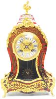 Wow! Phenomenal French Boulle Mantel Clock Ormolu Inlay 8 Day Visible Pendulum Mantle Clock (3 of 10)