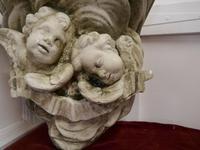 Sleeping Angels, Large Stoneware Weathered Wall Bracket (7 of 7)