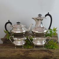 Stunning 4 Piece Art Deco Silver Tea / Coffee Set (19 of 19)