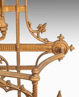 Complex Mid 19th Century Cast Iron Hall / Stick Stand (5 of 8)