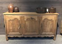 French Bleached Oak Dresser Base (9 of 12)