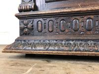 Antique 19th Century Carved Oak Court Cupboard (16 of 24)