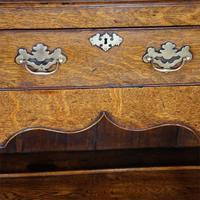 Georgian Pot Board Oak Dresser Base (3 of 13)