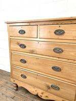 Victorian Pine Chest of Drawers (4 of 9)