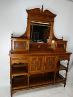 English 19th Century Walnut & Amboyna Cabinet (2 of 11)