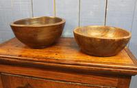 Antique Turned Wooden Bowl. 19th Century (8 of 8)