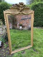 Large gilt mirror with swags (3 of 6)
