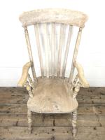 Victorian Ash and Elm Country Armchair (5 of 10)