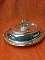 Antique Sheffield Silver Plate Lee & Wigfull  Serving Tureen Dish & Lid C1870s (10 of 11)