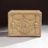 19th Century Painted Carton Pierre Chest / Cellaret in the Adam Neoclassical Style (5 of 15)
