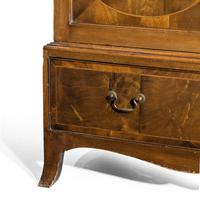 Handsome Late 19th Century Mahogany Two Door Press (4 of 5)