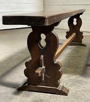 French Farmhouse Dining Table & Benches Set (10 of 33)