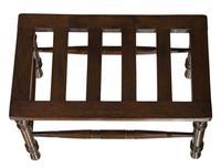 19thcentury Mahogany Luggage Stand (4 of 6)