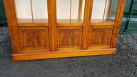 Reprodux bevan funnell yew wood display cabinet (6 of 8)