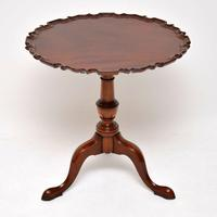 Chippendale Style Mahogany Tilt Top Table c.1930 (3 of 8)