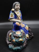 Early 20th Century Figure of a Young Chinese Lady Astride a Dragon (2 of 7)