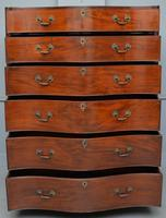 George III Mahogany Serpentine Tallboy / Chest on Chest (7 of 15)