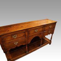 Antique oak pot board dresser (11 of 13)