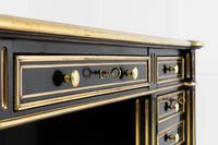 19th Century Ebonised and Brass Inlaid Desk (5 of 11)