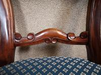 Set of Six Mahogany Dining Chairs In The Victorian Style (3 of 10)