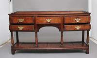 18th Century oak potboard dresser (3 of 10)