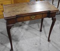 1780's Oak Card Table (3 of 5)