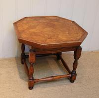 Small Oak Parquetry Top Table (2 of 10)