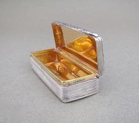 Georgian Silver Snuff Box by Edward Smith, Birmingham 1828 (4 of 8)