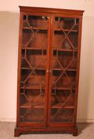Georgian Glassed Bookcase in Mahogany & Inlays - 18th Century English (2 of 14)
