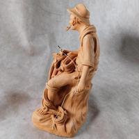 Terracotta Figure of a Fisherman (4 of 4)
