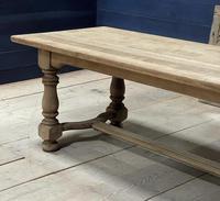 Deep Bleached Oak French Farmhouse Dining Table (6 of 20)