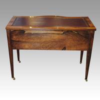 Edwardian Inlaid Rosewood Writing Table (9 of 12)