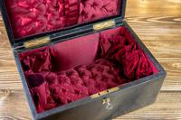Large Leather Jewellery Box 1880 (9 of 9)