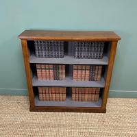 Victorian Mahogany Antique Open Bookcase (5 of 5)