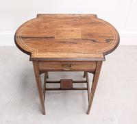 An Edwardian Rosewood Occasional Table