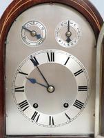 German Mahogany Bracket Clock by Winterhalder & Hofmeier (3 of 7)
