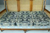 Vintage Bergere Cane Sofa (3 of 9)