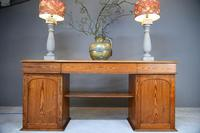 Large Pitch Pine Twin Pedestal Sideboard (2 of 12)