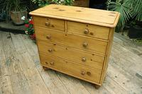Lovely Old Victorian Pine Chest of Drawers - We Deliver! (3 of 7)
