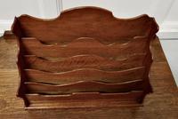 Charming Arts & Crafts Golden Oak Stationary Box (4 of 5)