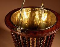 Beautiful Mahogany Tea Stove Bucket / Peat Bucket Jardinière (7 of 11)